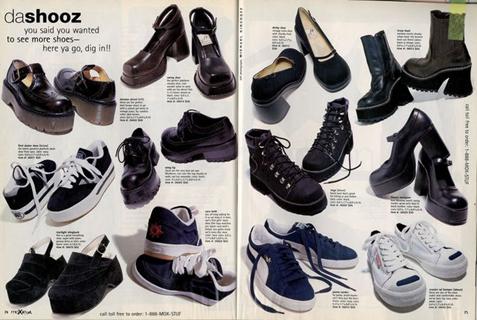 1991 - shoes